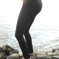 Super Soft Jeggings in Black