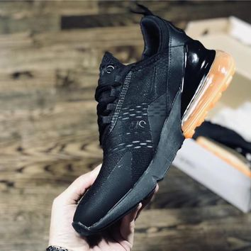 NIKE Air Max 270 black run shoes size 36-45