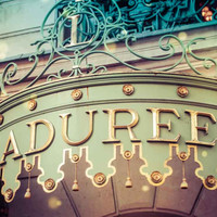 Paris Laduree Macaron Shop Fine Art Photography Print