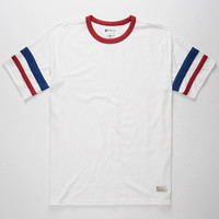 Matix Standard Check Mens Tee White  In Sizes