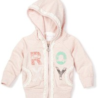 Roxy Kids Baby-girls Infant Ready To Rock Hoodie