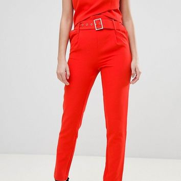 Morgan X Georgia May Jagger Tailored PANTS at asos.com