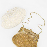 Urban Renewal Vintage Beaded Clutch - Urban Outfitters
