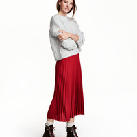 H&M Pleated Skirt $34.99