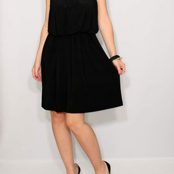 Short black Dress Summer dress little black dress party dress