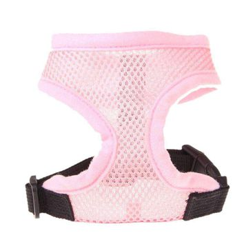 New Dog Harness Soft Mesh Vest Dogs Puppy Cats Lead Leash Chest Belt Soft Designed Drop-shipping Wholescale