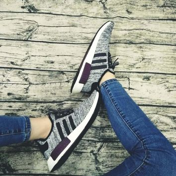 One-nice™ ADIDAS Women Running Sport Casual Shoes NMD Sneakers I