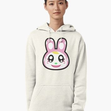 """CHRISSY ANIMAL CROSSING"" Pullover Hoodie by purplepixel 