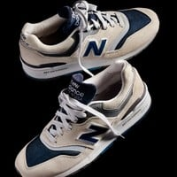 Introducing the J.Crew x New Balance® 997 Moonshot- Read more at our blog.