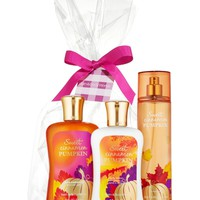 Sweet Cinnamon Pumpkin Fragrance Trio Gift Set   - Signature Collection - Bath & Body Works