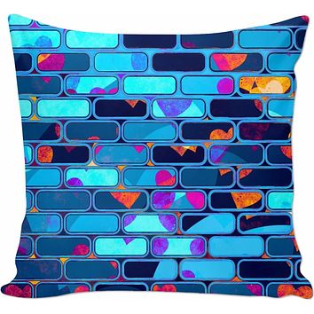 ROCP Psychedelic Techno Wall - Couch Pillow