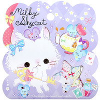 Buy Q-Lia Milky Shy Cat Seal Sticker Flake Sack at ARTBOX