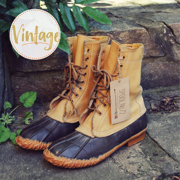 Vintage Duck Boots