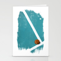 Tennis Stationery Cards by Matt Irving