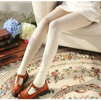 High Quality Thin Autumn Winter Pantyhoses Nylon Velvet Warm Tight Women Stockings Solid Tights