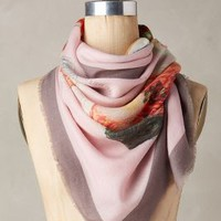Ramen Square Scarf by CJW Pink One Size Scarves