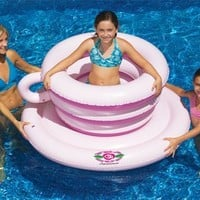 Tea Cup Spinner Swimming Pool Float