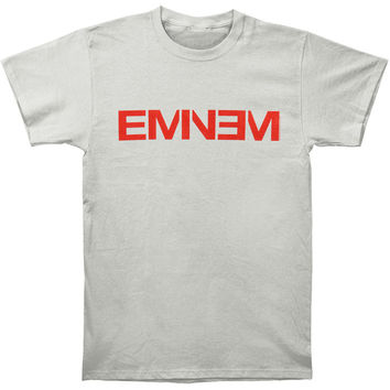 Eminem Men's  New Logo Gray T-shirt Grey Rockabilia
