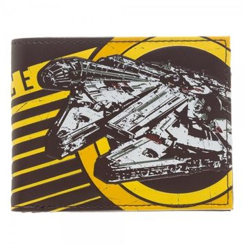 Star Wars Rebel Alliance Brown Bi-Fold Wallet