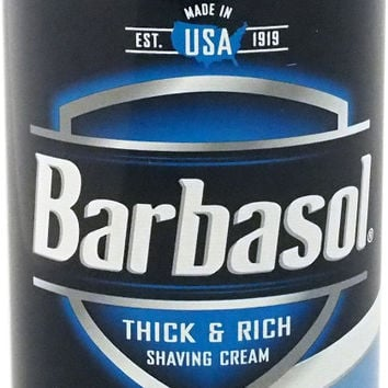 barbasol - arctic chill with menthol thick & rich shaving