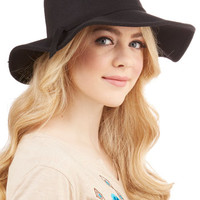 ModCloth Boho Topper the Morning Hat in Black