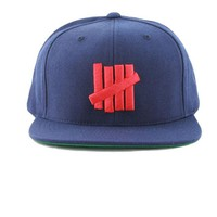 ONETOW Undefeated 5 Strikes Snapback In Navy