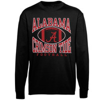 Alabama Crimson Tide Upper Level Long Sleeve T-Shirt - Black
