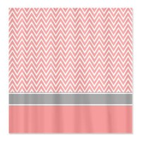 Pink White Chevron Zigzag Pattern with Grey Shower> Pink White Grey Chevron Pattern> Cierra's Pattern Decor and Gifts