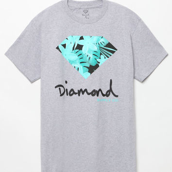 Diamond Supply Co Floral OG Sign T-Shirt at PacSun.com