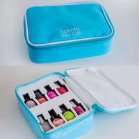 Color Clutch 8-Bottle Nail Polish Case