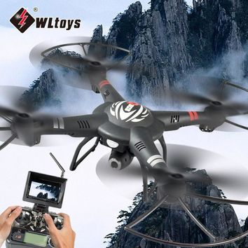WLtoys Q303 Brand New RC Drones 5.8G FPV 720P Camera Drone 4CH 6 Axis Gyro RTF RC Quadcopter LED Light Headless Mode Helicopter