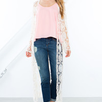 Day Dreaming Crochet Duster