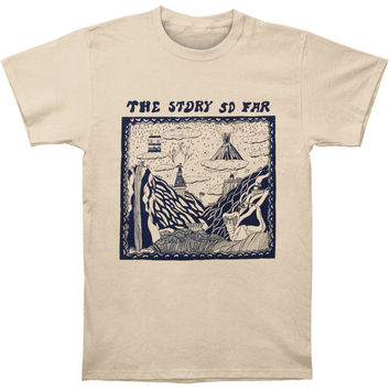 Story So Far Men's  Album T-shirt Cream Rockabilia