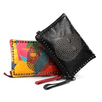 PUNK ROCK CLUTCH PURSE