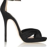 Jimmy Choo - Jada shimmer-leather sandals