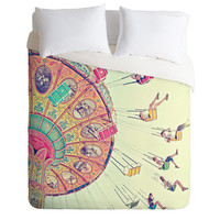 Shannon Clark Dizzying Heights Duvet Cover