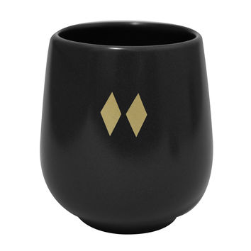 Feeka Cup With Black Diamonds
