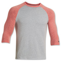 Men's Under Armour Charged Cotton Tri-Blend 3/4 Sleeve Shirt