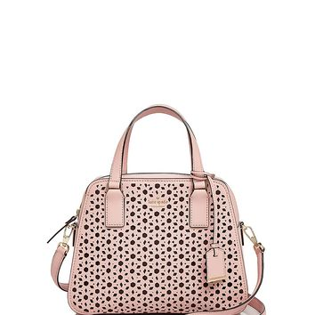 kate spade new yorkCameron Street Little Babe Perforated Leather Satchel