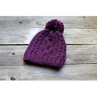 Knit hat pattern - Margo pattern in PDF