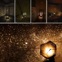 ICOCO Hot Sale Celestial Star Astro Sky Cosmos Night Light Projector Lamp Starry Romantic Home Bedroom Decor Drop Shipping
