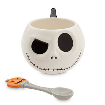Jack Skellington Mug and Spoon Set