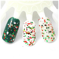 Something About Merry - Green, Red, White Glitter Winter Nail Polish (LIMITED EDITION)