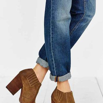Jeffrey Campbell Yorktown Distressed Suede Ankle Boot