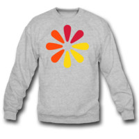 COLOR DESIGN SWEATSHIRT CREWNECK