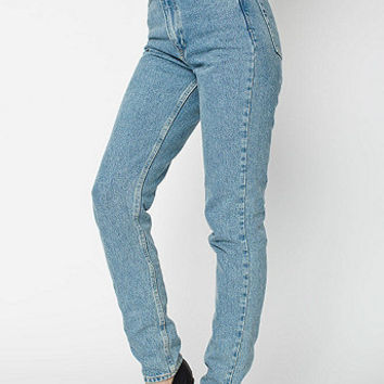 Medium Wash High-Waist Jean