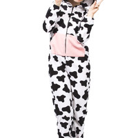 0737-48281411 Girls Cow Onesuit