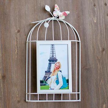 Cage Iron Simple Design Photo Frame = 5893850497