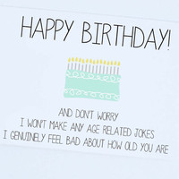 Happy Birthday,  Funny Card, Birthday Greeting Card, Birthday Wishes