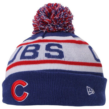 Chicago Cubs New Era Preschool Redux Knit Beanie – Royal Blue/White - http://www.shareasale.com/m-pr.cfm?merchantID=7124&userID=1042934&productID=546714824 / Chicago Cubs